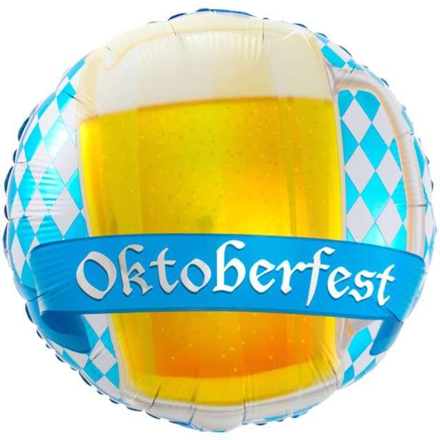 "Balon foliowy ""Oktoberfest"", FOLAT, 17"", CIR"