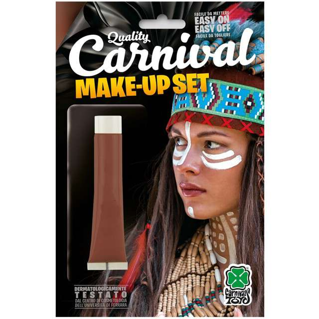 "Make-up party ""Farba do makijażu"", brązowa, Carnival Toys, 28,3 ml"