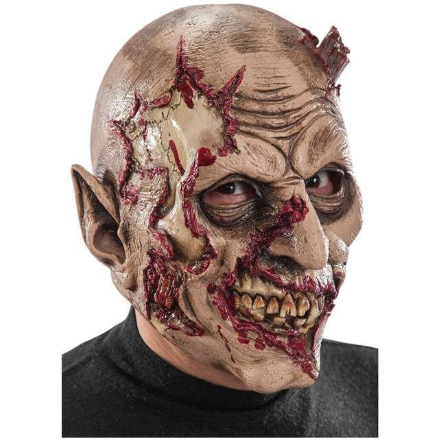"Maska ""Krwawy Zombie"", lateksowa, Carnival Toys"