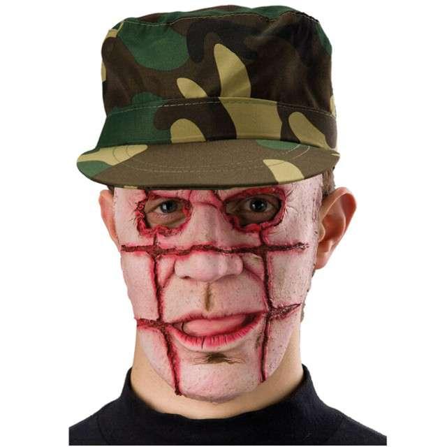 """Maska """"Grillowany Zombie"""", lateksowa, Carnival Toys"""