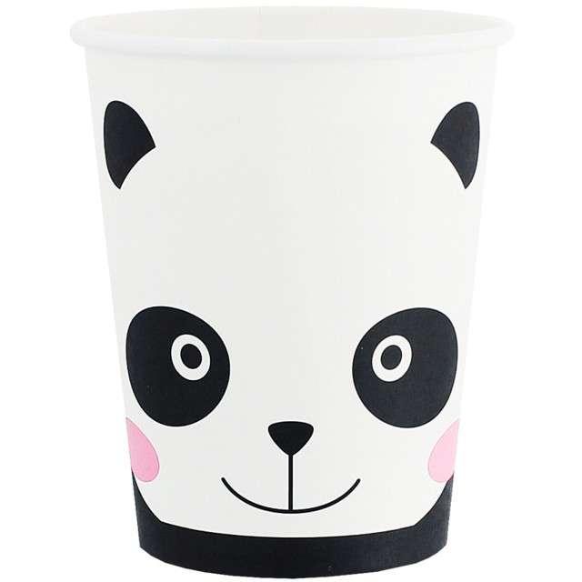 """Kubeczki papierowe """"Panda"""", GODAN, 200 ml, 6 szt"""