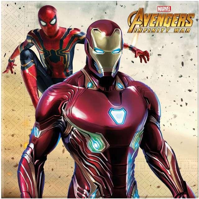 "Serwetki ""Avengers Infinity War"", PROCOS, 33 cm, 20"