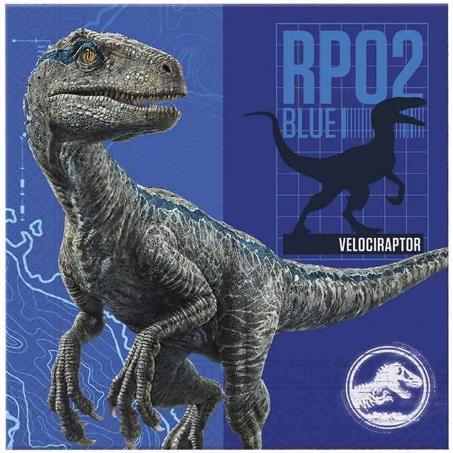 "Serwetki ""Jurassic World"", PROCOS, 33 cm, 20 szt"