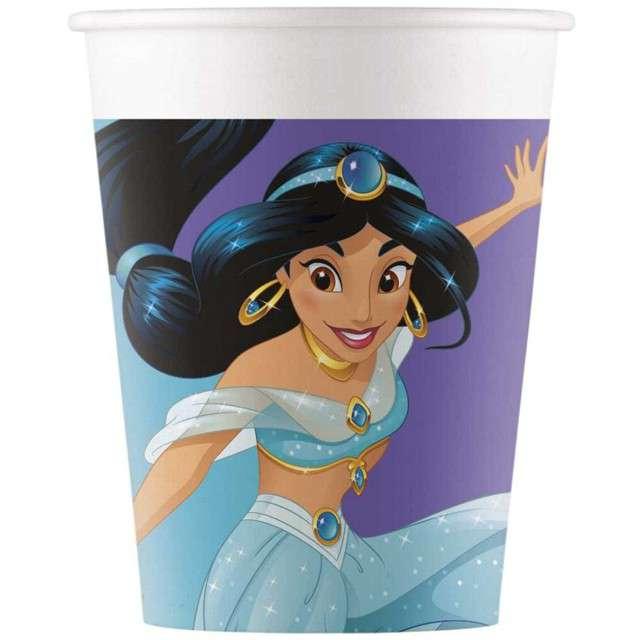 """Kubeczki papierowe """"Disney Princess - Day Dream"""", PROCOS, 200 ml, 8 szt"""
