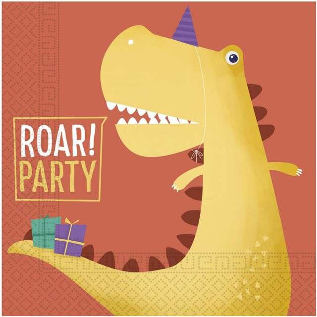 "Serwetki ""Dinozaur Party"", PROCOS, 33 cm, 20 szt"