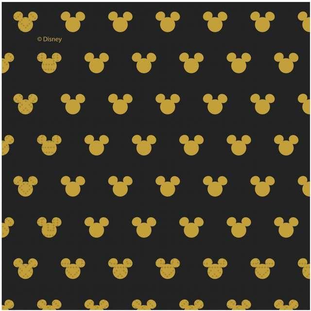 """Serwetki """"Mickey Gold"""", PROCOS, 33 cm, 20 szt"""