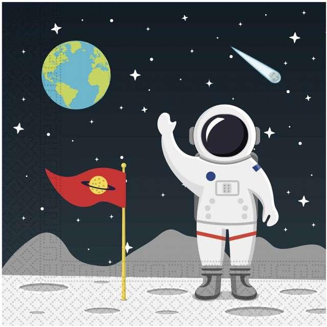 """Serwetki """"Kosmos - Outer Space"""", PROCOS, 33 cm, 20 szt"""