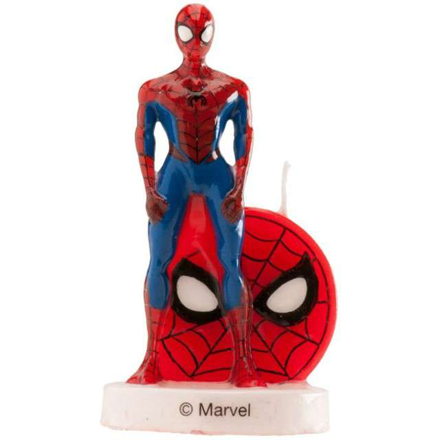 "Świeczka na tort ""SpiderMan 3D"", DEKORA, 9 cm"
