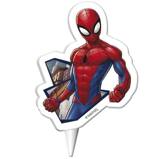 "Świeczka na tort ""SpiderMan"", DEKORA, 7,5 cm"