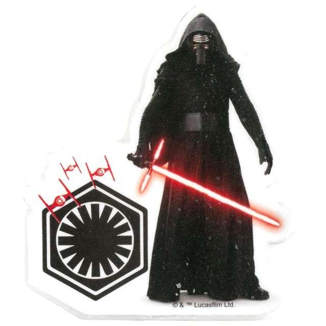 """Świeczka na tort """"Kylo Ren - Star Wars"""", DEKORA, 7,5 cm"""