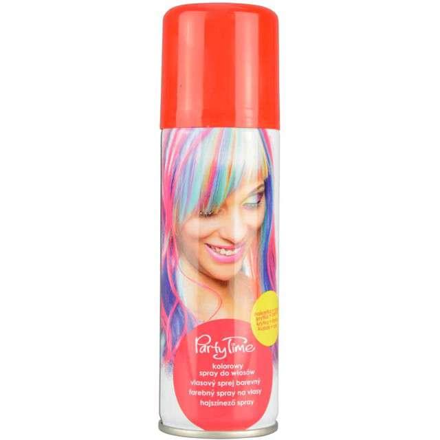 """Spray koloryzujcy """"Party Time"""", czerwony, ARPEX, 125 ml"""