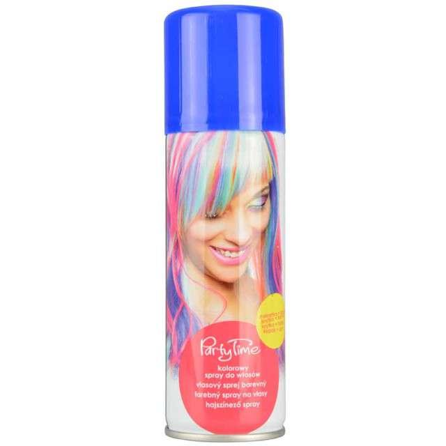 """Spray koloryzujcy """"Party Time"""", niebieski, ARPEX, 125 ml"""
