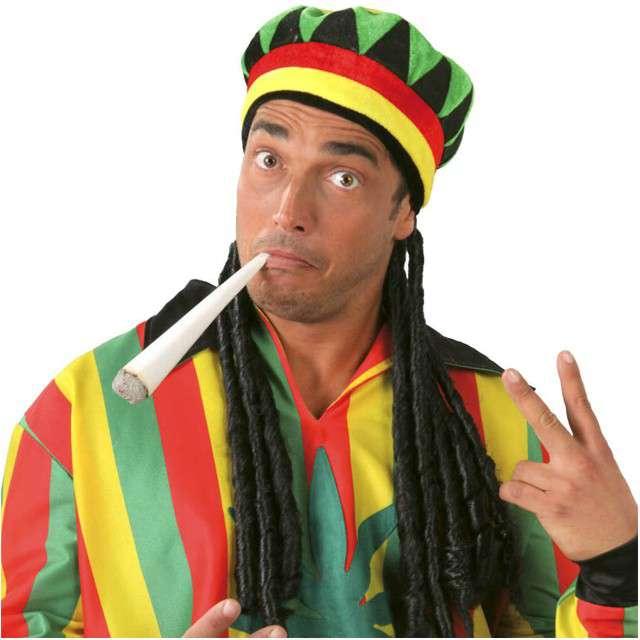 """Czapka """"Bob Marley z dredami"""", GUIRCA"""