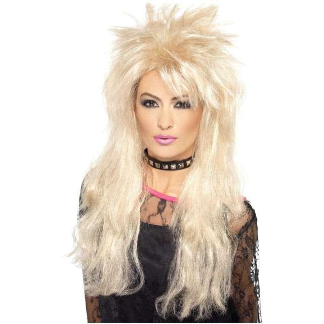 "Peruka party ""Punk Queen"", blond, SMIFFYS"