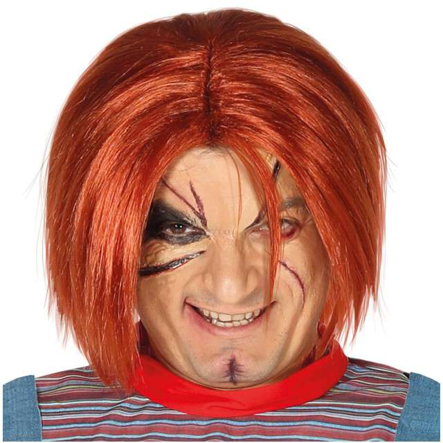 """Peruka party """"Laleczka Chucky"""", ruda, GUIRCA"""