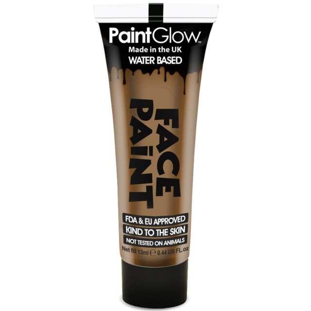 """Make-up party """"Farba do Makijażu"""", brązowa jasna, PaintGlow, 13 ml"""