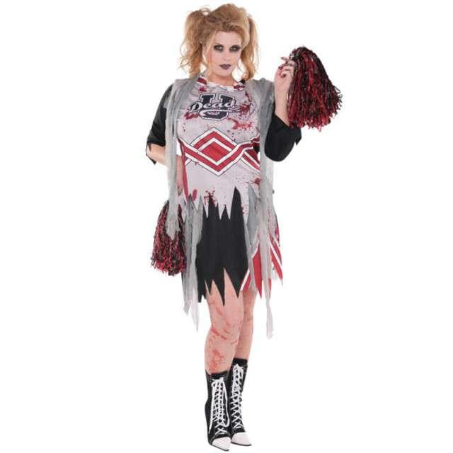 """Strój dla dorosłych """"Zombie Cheerleaderka"""", AMSCAN, rozm. XXL"""