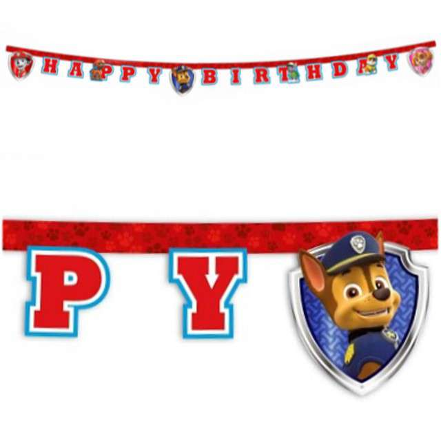 "Baner ""Paw Patrol - Ready for Action"", PROCOS, mix, 220 cm"