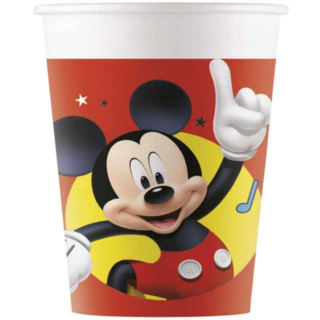 """Kubeczki papierowe """"Mickey pals at play Disney"""", PROCOS, 200 ml, 8 szt"""