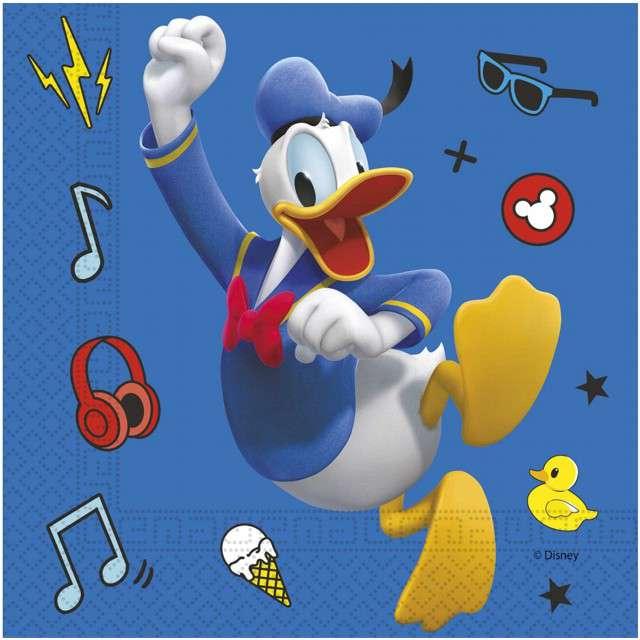 "Serwetki ""Mickey pals at play Disney"", PROCOS, 33cm, 20 szt"