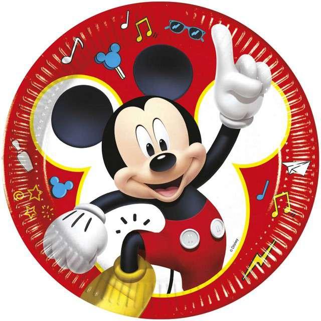 """Talerzyki papierowe """"Mickey pals at play Disney"""", PROCOS, 23 cm, 8 szt"""