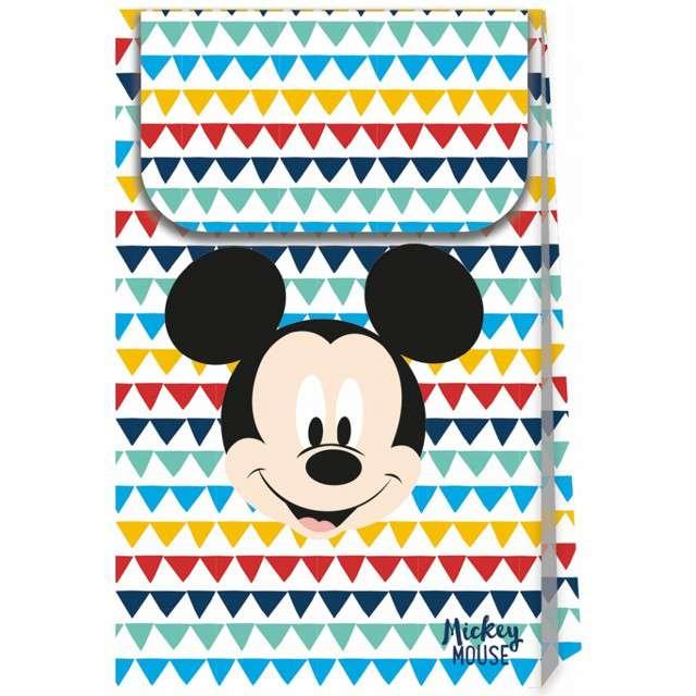 """Torebka prezentowa """"Mickey - Awesome Mouse"""", PROCOS, 21x12 cm, 6 szt"""