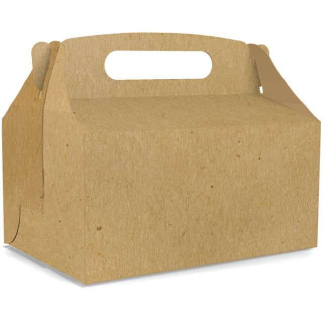 "Pudełko na ciasto ""Kraft deluxe"", TOLEDO, 5 szt"