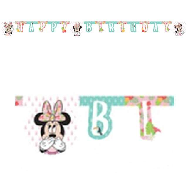 "Baner ""Minnie Tropical Disney"", PROCOS, 200 cm"