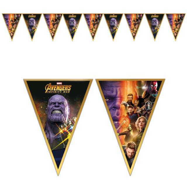 "Baner flagi ""Avengers Infinity War"", PROCOS, 230 cm"