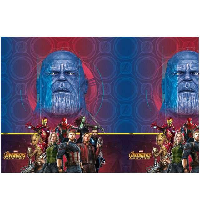 """Obrus foliowy """"Avengers Infinity War"""", PROCOS, 180x120 cm"""