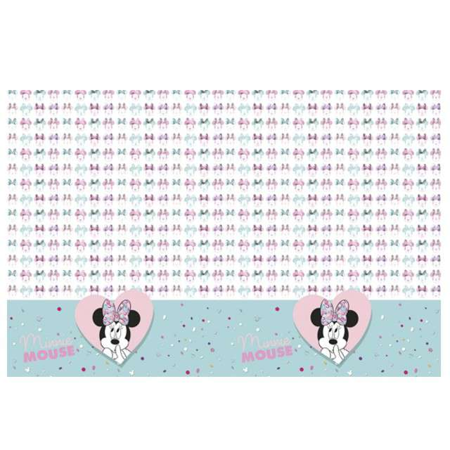 "Obrus foliowy ""Minnie Party Gem"", PROCOS, 180x120 cm"