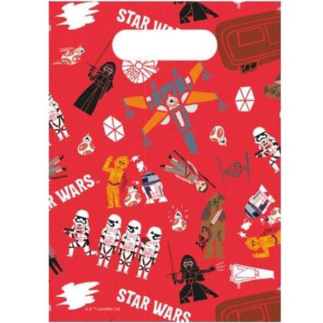 """Torebki foliowe """"Star Wars Forces"""", PROCOS, 6 szt"""