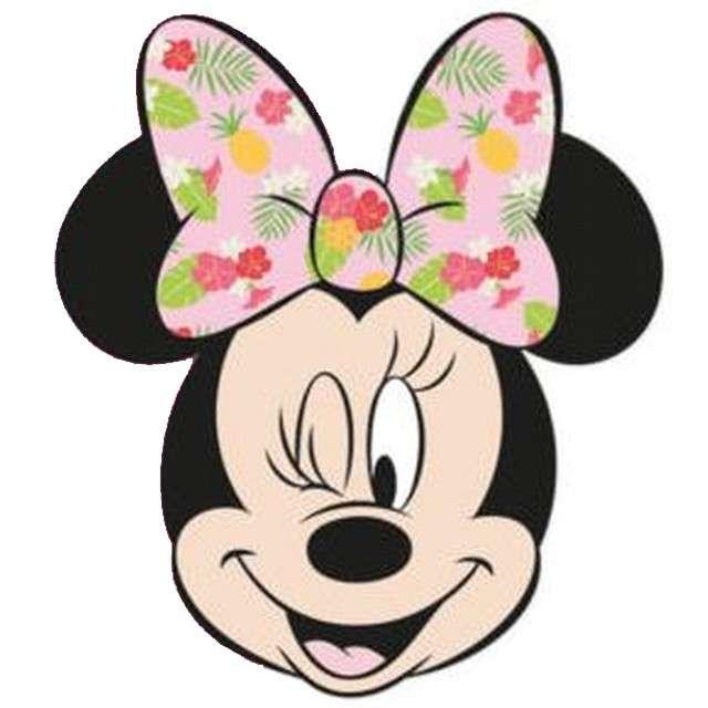 """Zaproszenia urodzinowe """"Minnie Tropical Disney"""", PROCOS, 6 szt"""