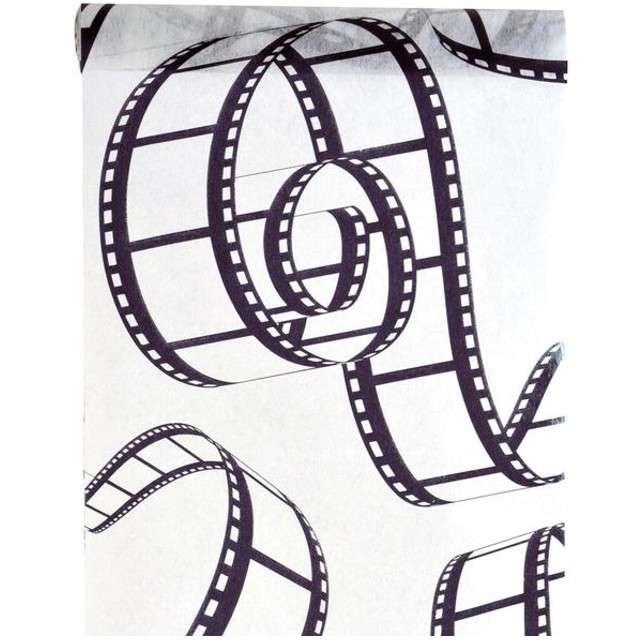 "Bieżnik ""Hollywood"", biały, SANTEX, 500 x 30 cm"