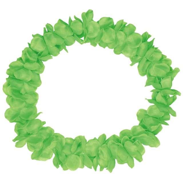 """Naszyjnik Hawajski """"Neon"""", zielony, FOLAT, 90 cm"""