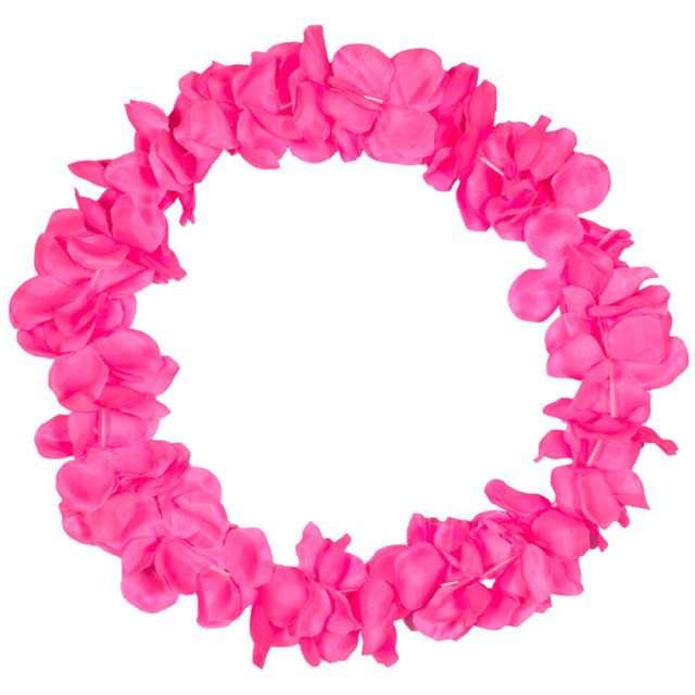 """Naszyjnik Hawajski """"Neon"""", różowy, FOLAT, 90 cm"""
