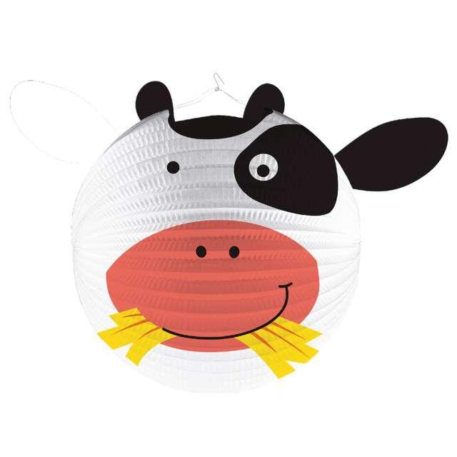 """Lampion papierowy """"Krowa"""", AMSCAN, 25 cm"""