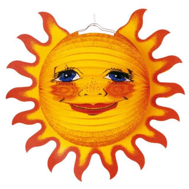 """Lampion papierowy """"Słońce"""", AMSCAN, 38 cm"""