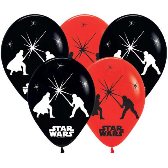 "Balony ""Star Wars LED"", AMSCAN, 11"" 5 szt"
