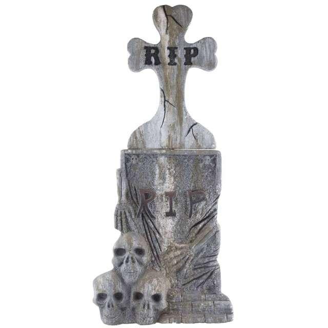 "Dekoracja styropianowa ""Nagrobek RIP"", FunnyFashion, 106 cm"