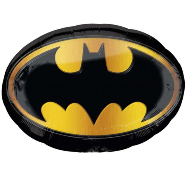 """Balon foliowy """"Batman"""", AMSCAN, 26"""", SHP"""