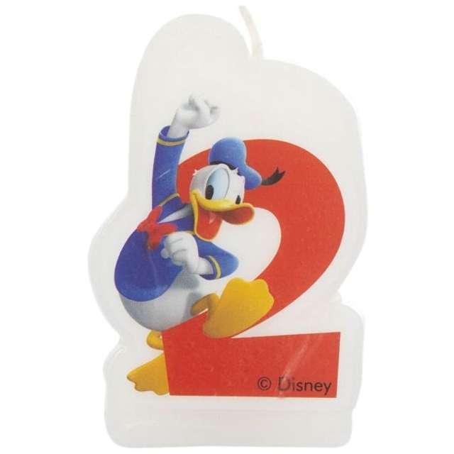 """Świeczka Disney """"Kaczor Donald 2"""", PROCOS"""