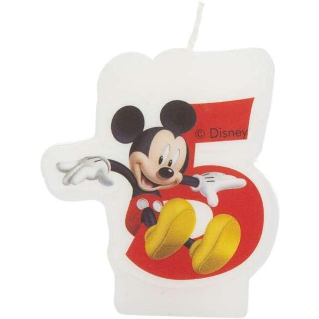 """Świeczka Disney """"Mickey 5"""", PROCOS"""
