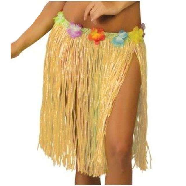 "Spódnica ""Hawajska Krótka"", słomkowa, GUIRCA, 50 cm"