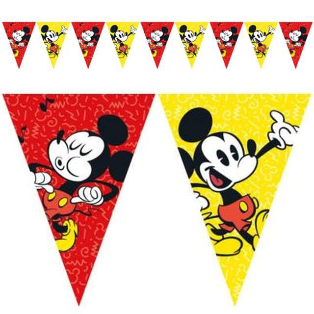 "Baner flagi ""Mickey Super Cool"", PROCOS, 230 cm"