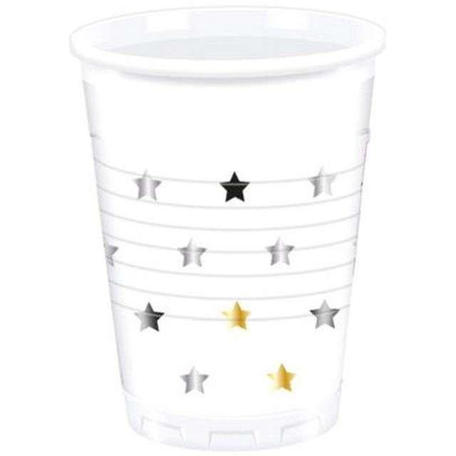 """Kubeczki plastikowe """"Gwiazdy"""", PROCOS, 200 ml, 8 szt"""