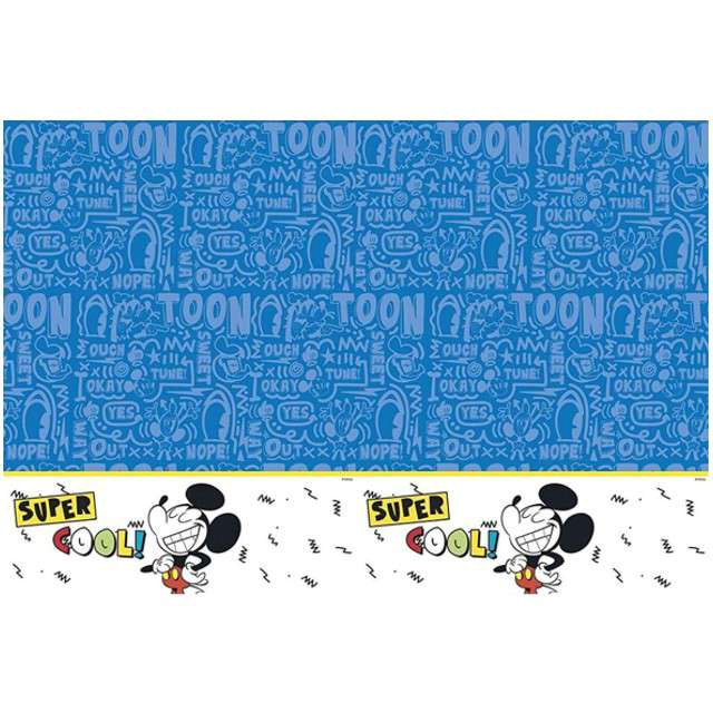 "Obrus foliowy ""Mickey Super Cool"", PROCOS, 180x120 cm"