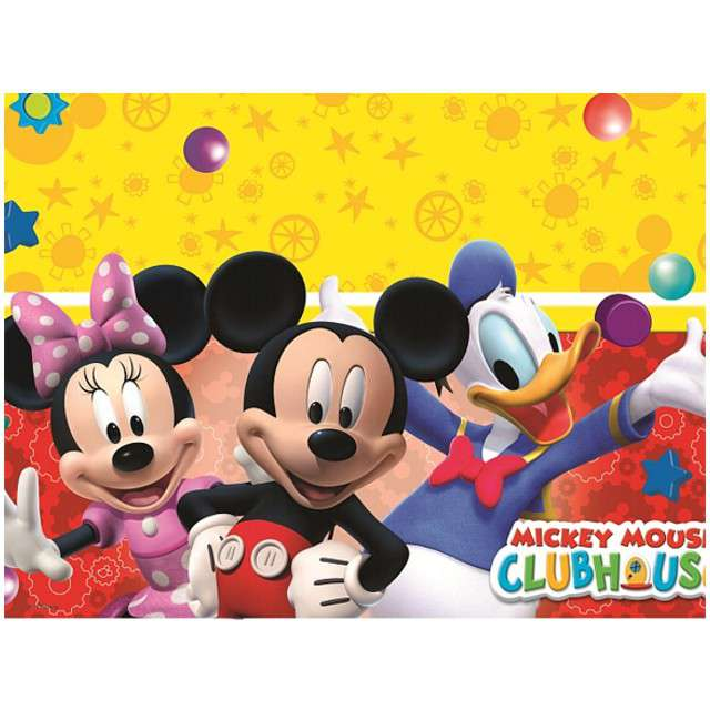 "Obrus foliowy ""Mickey Playful Mickey"", PROCOS, 180x120 cm"
