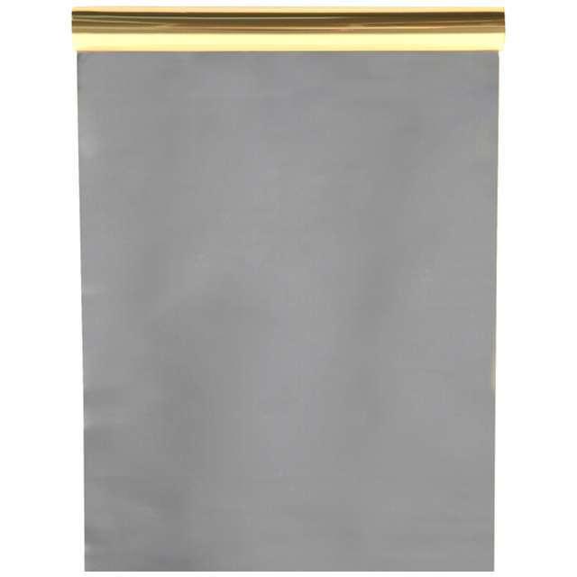 """Bieżnik """"Dwukolorowy, złoty - srebrny"""", SANTEX, 500 x 60 cm"""