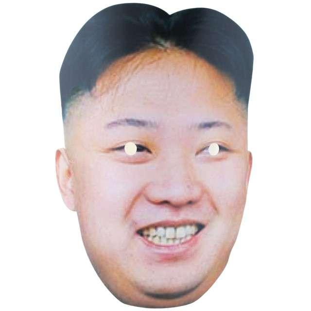 """Maska """"Kim Jong-Un"""", papierowa, FunnyFashion"""